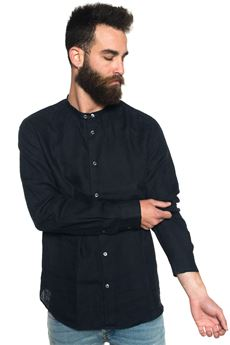 Camicia di lino guru Armani Jeans   6   3Y6C05-6N0PZ0575