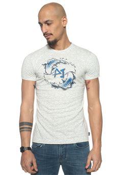 T-shirt girocollo mezza manica Armani Jeans   8   3Y6T76-6J1DZ2904
