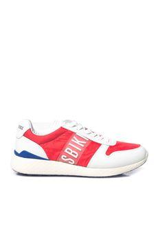 Sneakers in tela e pelle Bikkembergs | 5032317 | BKE108780-STRIKBIANCO