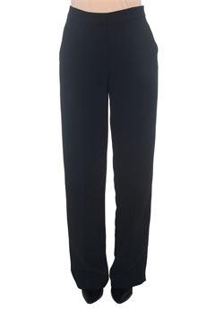 Pantalone morbido in cady Blue Les Copains | 9 | 0J31000131