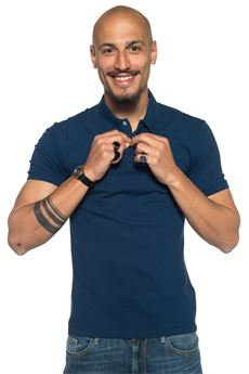 Polo shirt in cotton piquet Brooksfield | 2 | 201A-B0040707