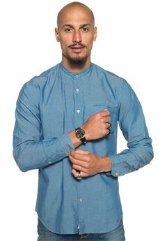 Shirt with guru collar Brooksfield | 6 | 202A-T017V0031