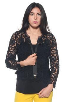 Short jacket Camilla | 3 | K335T282NERO