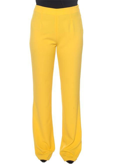 Pantalone morbido in cady Camilla | 9 | P326T151GIALLO