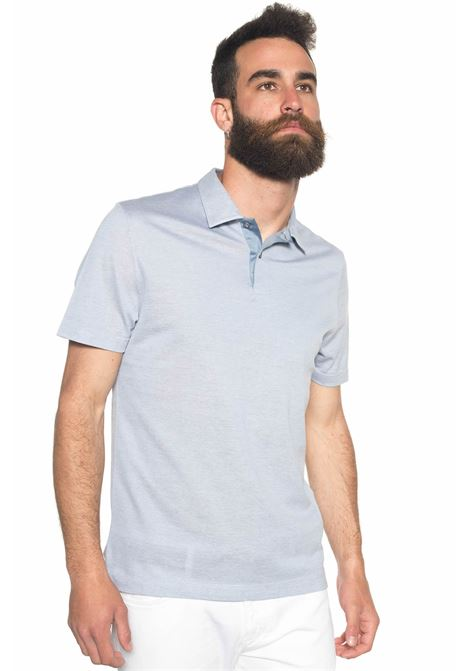 Polo shirt in cotton piquet Canali | 2 | T0342-MJ00351400