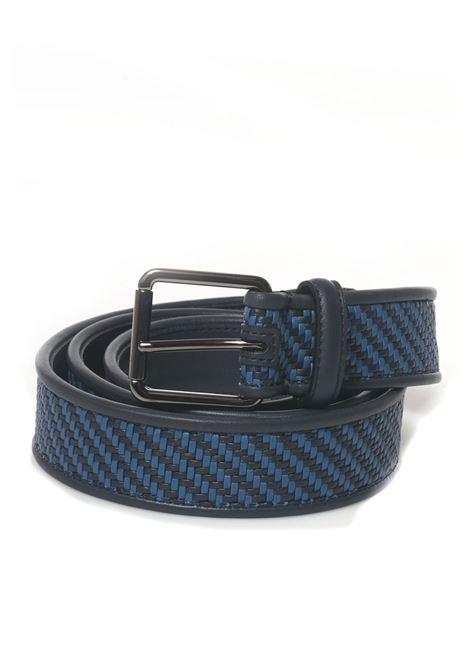 Cintura bicolore Ermenegildo Zegna | 20000041 | 9RZ2-BPTEN9CIH