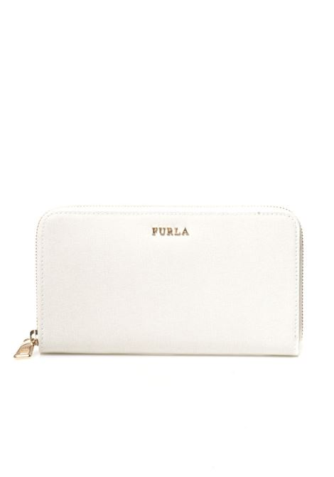 Rectangular purse with zip in leather Furla | 63 | BABYLON PR70-B30PET
