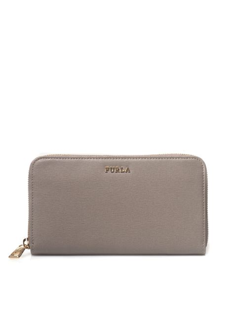 Rectangular purse with zip in leather Furla | 63 | BABYLON PR70-B30SBB