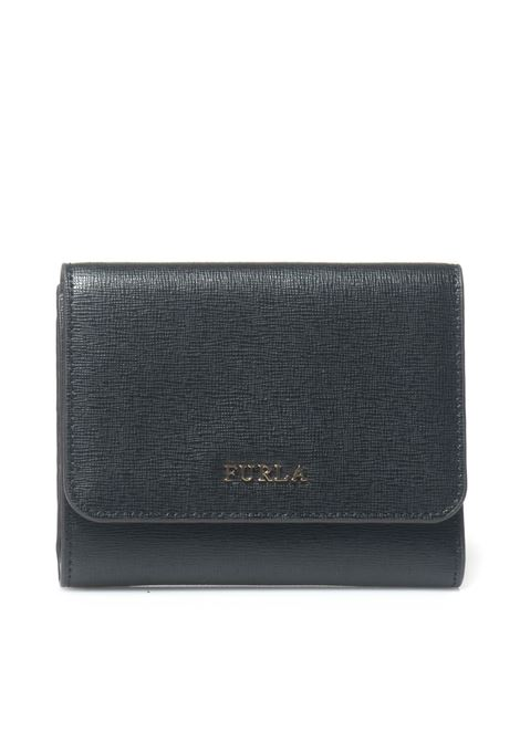 Wallet with press stud tab fastener Furla | 63 | BABYLON-PR88 B30ONYX