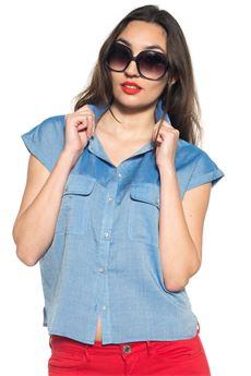 Camicia smanicata Guess   6   W72H59-W8CU0B718