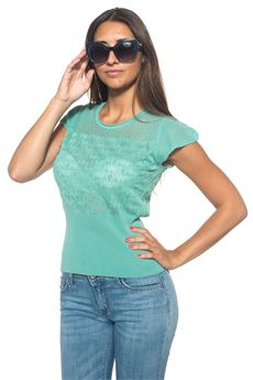 Top in cotone Guess | 40 | W72R59-Z1HQ0A836