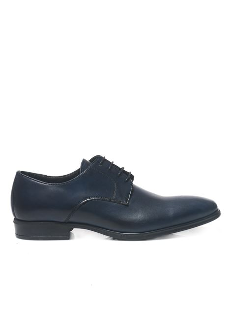 Classic leather lace-up shoe Leo Cristiano | 12 | 0201/OBBLU