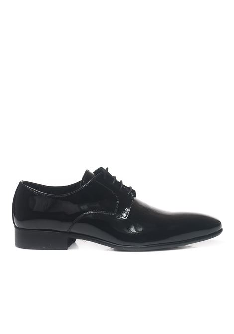 Classic leather lace-up shoe Leo Cristiano | 12 | 0201/OBNERO