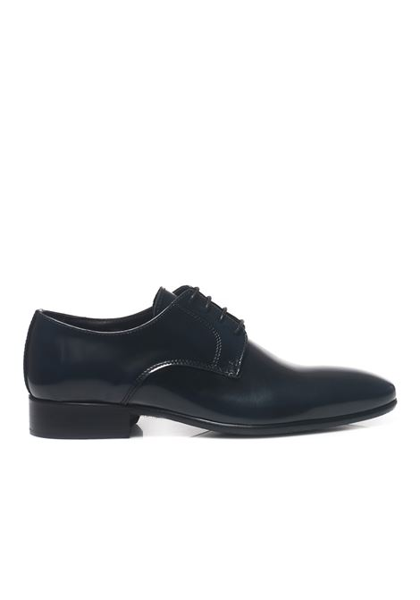 Classic leather lace-up shoe Leo Cristiano | 12 | 0201/OEBLU