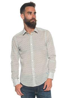 Long-sleeved cotton shirt MCS | 6 | MMM8041000-C0087951