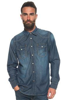 Denim shirt MCS | 6 | MMM8171000-D0004000