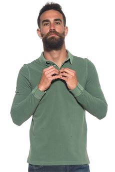 Polo shirt in cotton piquet MCS | 2 | MMMP281000-C0012807