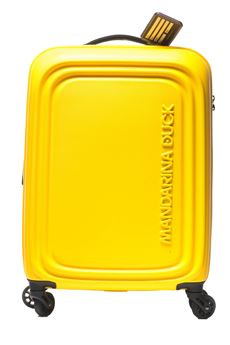 Cabin trolley Mandarina Duck | 5032321 | DDV34-LOGODUCK05J DUCK YELLOW