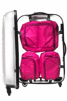 Internal module for cabin trolley Mandarina Duck | 5032240 | PTM01-POPSICLE20V STRAWBERRY