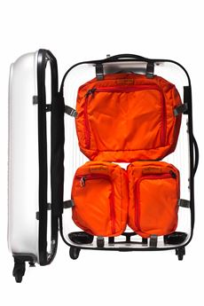 Internal module for cabin trolley Mandarina Duck | 5032240 | PTM01-POPSICLE229 ORANGE