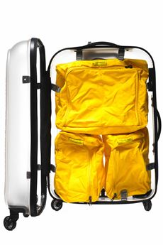 Internal module for cabin trolley Mandarina Duck | 5032240 | PTM07-POPSICLE485 LEMON