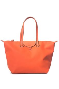Fabric shopping bag Mandarina Duck | 31 | PVT11-TOUCHDUCK229 ORANGE