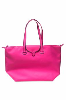 Fabric shopping bag Mandarina Duck | 31 | PVT11-TOUCHDUCK507 FUXIA