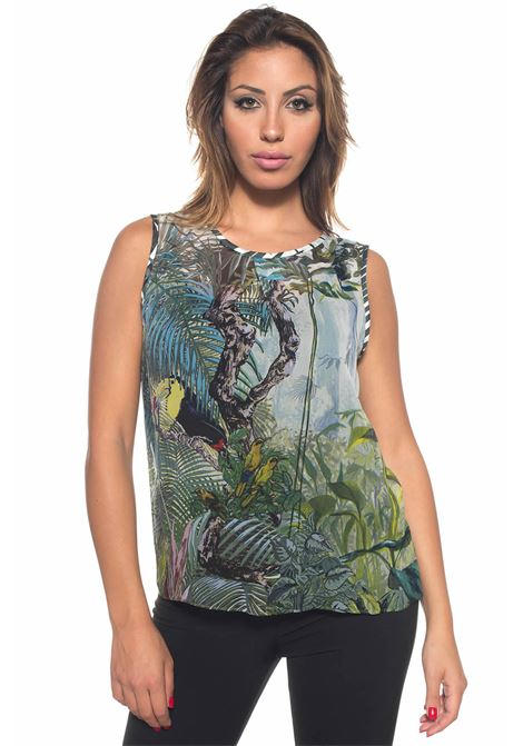 Top fantasia tropicale Max Mara | 40 | VALZER-10005001