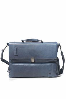 Cartella porta PC con tasca frontale Piquadro | 20000007 | CA4179P15SBLU