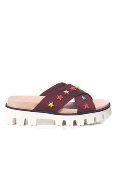 Sandalo intrecciato Red Valentino | 12 | MQ0S0927-MSC551