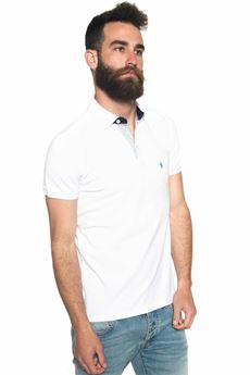 Polo in cotone piquet Refrigue | 2 | POLO-R50007PMS1MOPTICAL WHITE