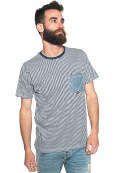 T-shirt Roy Rogers | 8 | T.SHIRT NET-SLUB RICGRIGIO MEL