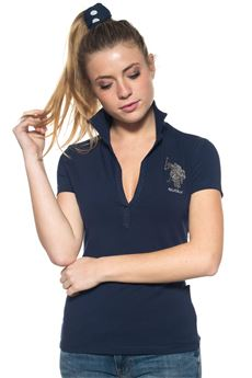 Buttonless polo shirt US Polo Assn | 2 | 38437-47041177