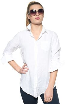 Long-sleeved linen shirt US Polo Assn | 6 | 38737-49490400