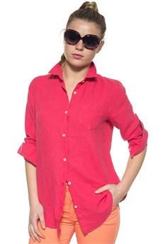 Long-sleeved linen shirt US Polo Assn | 6 | 38737-49490450