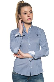 Cotton blouse US Polo Assn | 6 | 38943-51743807