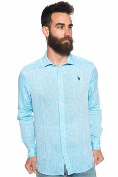Camicia lino manica lunga US Polo Assn | 6 | 42118-50816133