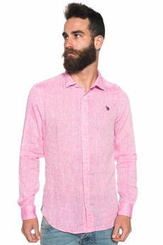 Camicia lino manica lunga US Polo Assn | 6 | 42118-50816250