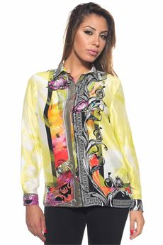 Camicia in seta a fantasia Versace Collection | 6 | G34774-G603330G7527