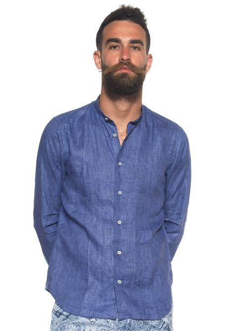 Camicia di lino guru Vincenzo De Lauziers | 6 | CO 86-CA18543