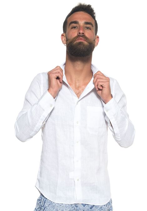 Long-sleeved linen shirt Vincenzo De Lauziers | 6 | G25-VI181031