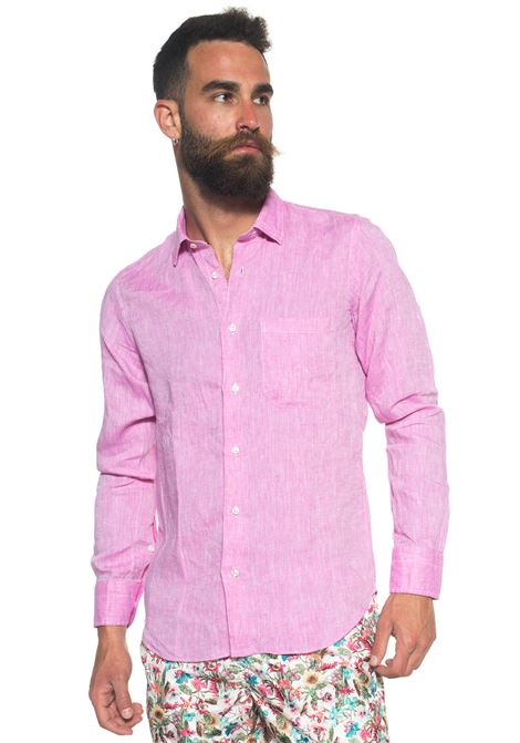 Long-sleeved linen shirt Vincenzo De Lauziers | 6 | G25-VI1810314