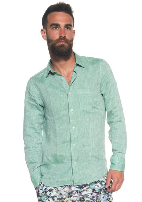 Long-sleeved linen shirt Vincenzo De Lauziers | 6 | G25-VI1810321