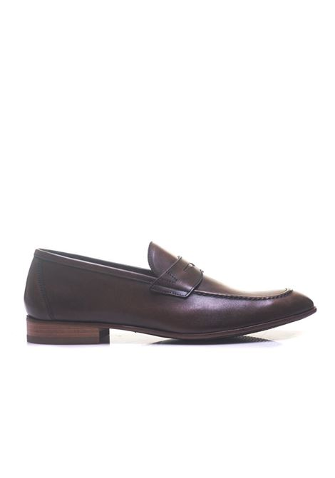 Leather loafer Angelo Nardelli | 12 | 82240-G6800870