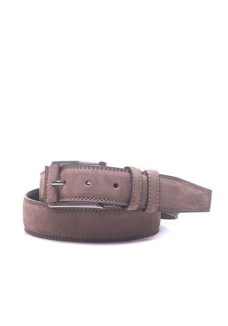 Leather belt Angelo Nardelli | 20000041 | 83471-G909680