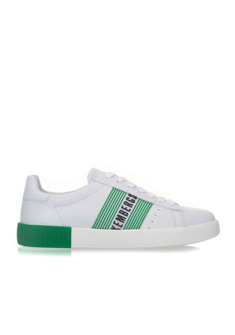 Cosmos Sneakers with laces Bikkembergs | 5032317 | BKE109032-COSMOSWHITE/GREEN