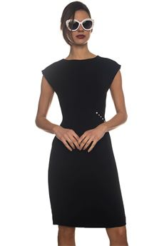 Sheath dress Blue Les Copains | 130000002 | 0J51300131