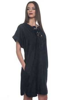 Tunic dress Blue Les Copains | 130000002 | 0J51700150