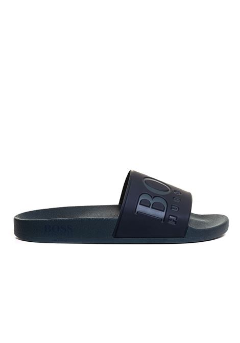 Solar_Slid_Logo Sandals BOSS by HUGO BOSS | 5032246 | SOLAR_SLID-50388496340