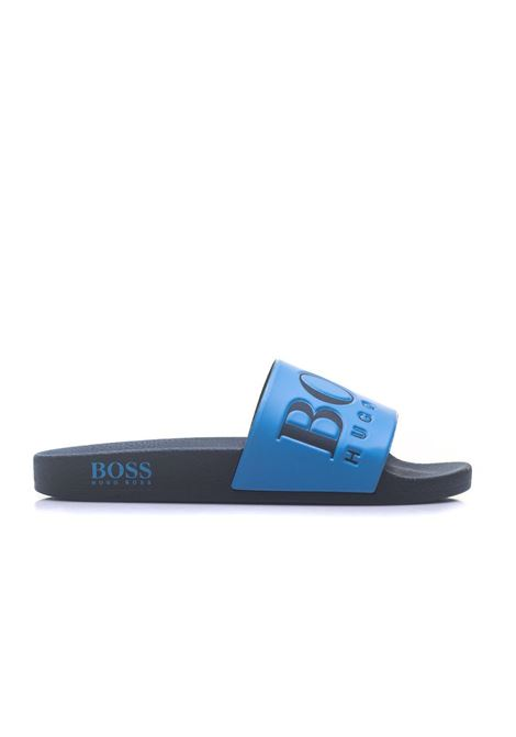 Solar_Slid_Logo Sandals BOSS by HUGO BOSS | 5032246 | SOLAR_SLID-50388496460